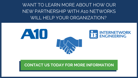 IE Partners with A10 Networks