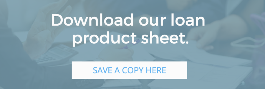 Download out loan product sheet
