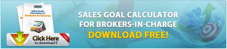 sales goals for real estate