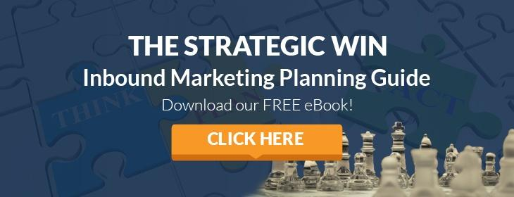 Strategic Win: Inbound Marketing Planning Guide CTA