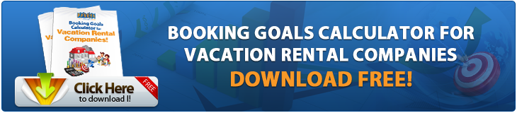 booking goals vacation rental companies
