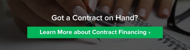 Got a contract on hand? Apply for contract financing now.