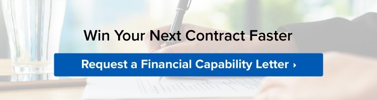 Get ahead of your competition - request a financial capability letter