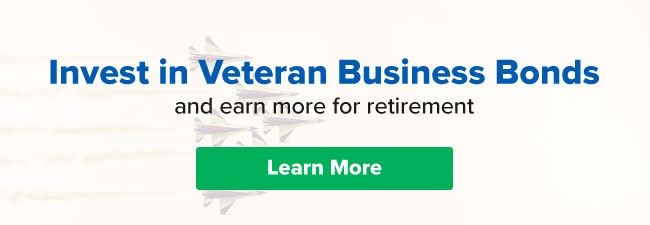 Invest in Veteran Small Business and earn more for retirement