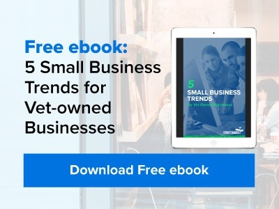 Free ebook: 5 Small Business Trends for Vet-owned Businesses