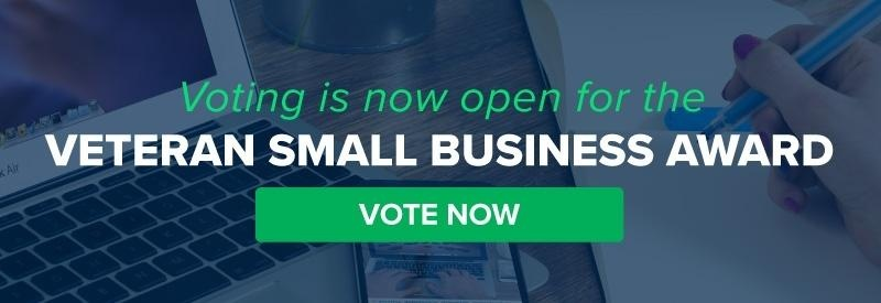 Vote for your favorite veteran small business.