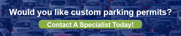 Click to contact a specialist for custom parking permits!