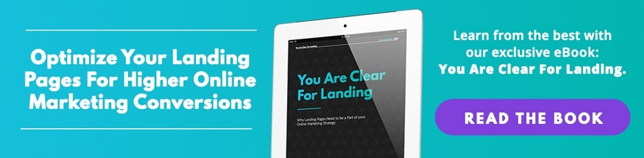 You are clear for landing- Ultimate Guide to Landing Pages- Neon Ambition
