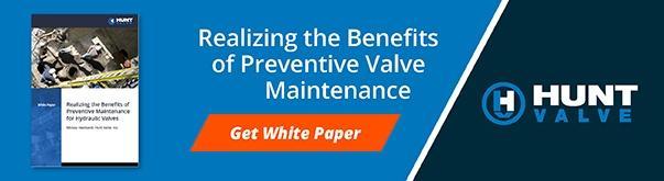 Preventive Valve Maintenance