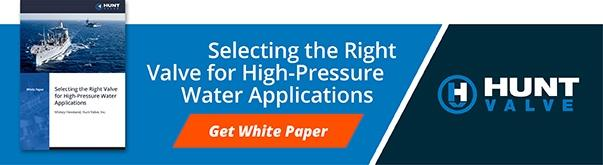 How to Select the Right High-Pressure Water Valve