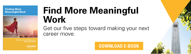Finding More Meaningful Work. Get our five steps toward making your next career move. Download free e-book.
