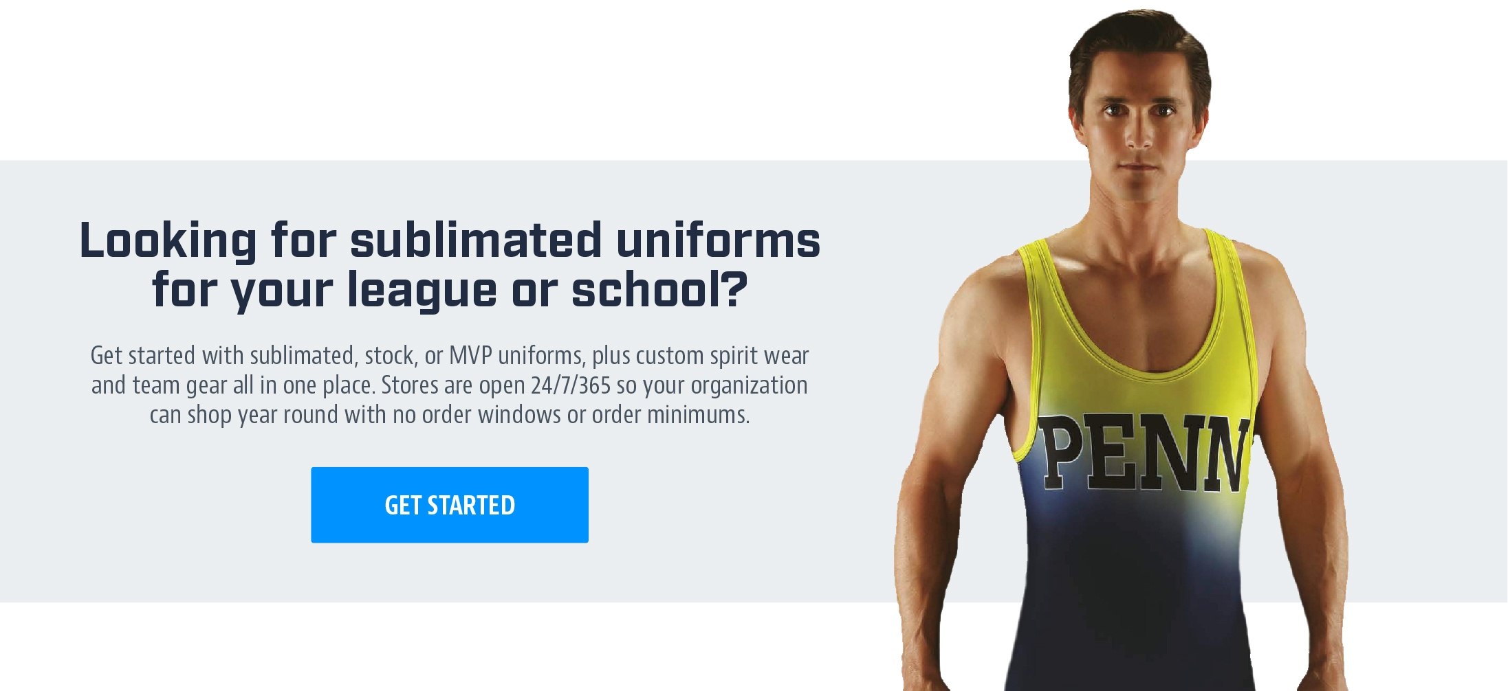 Looking for sublimated uniforms for your league or school?