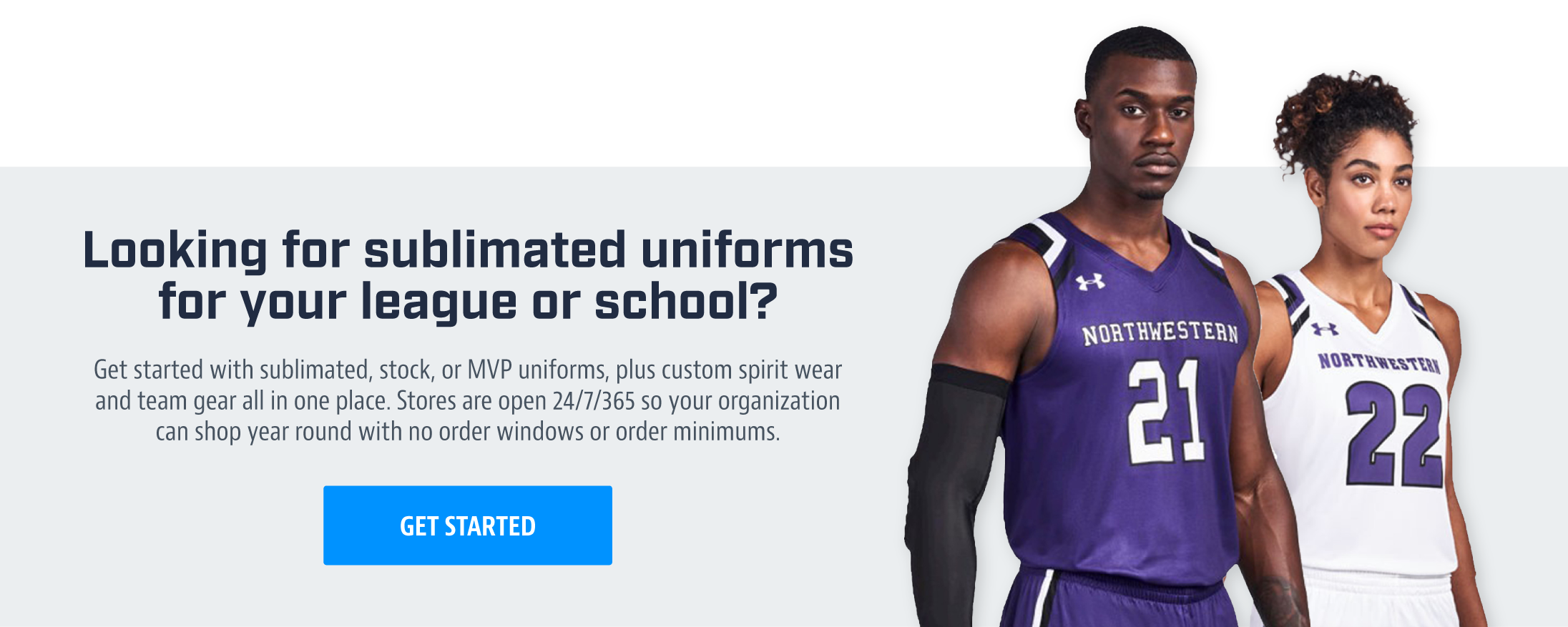 Sublimated Uniforms - Get Started