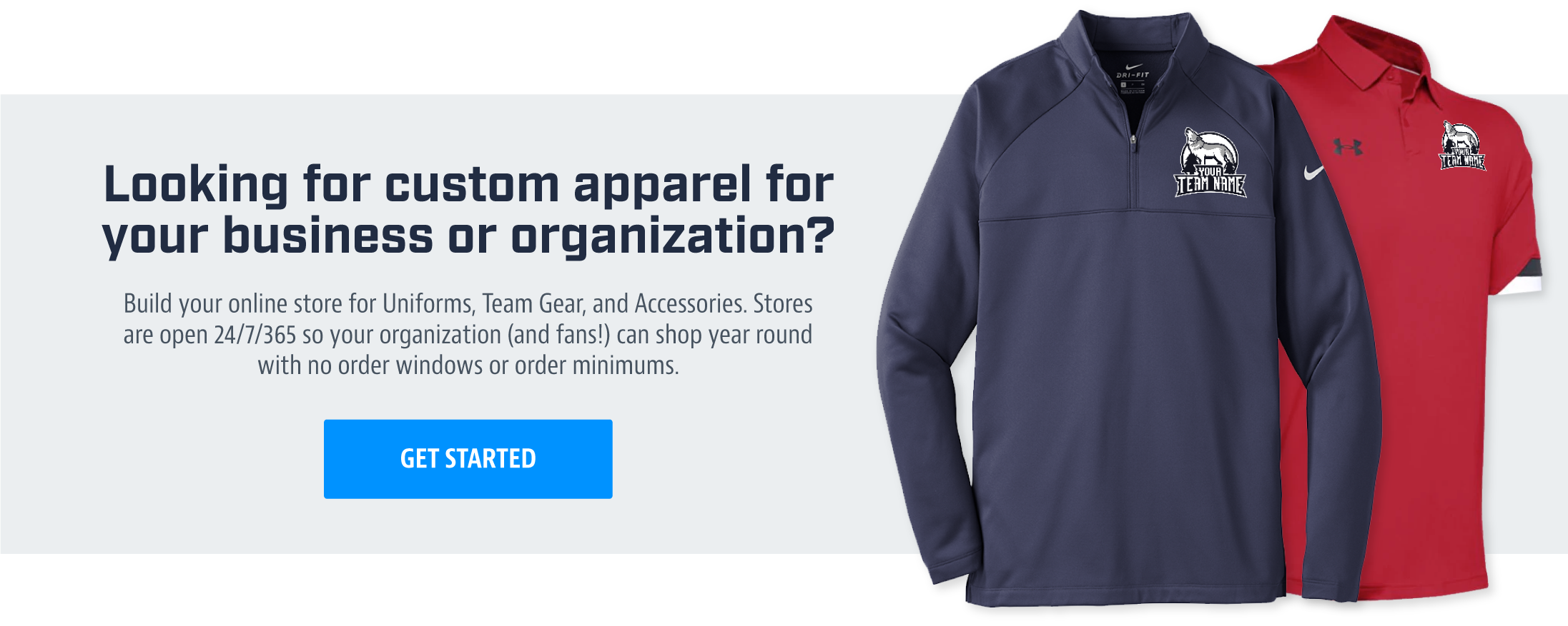 Looking for custom apparel for your business or organization?