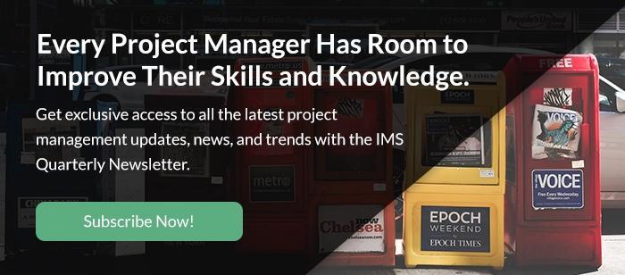 IMS Newsletter Subscription