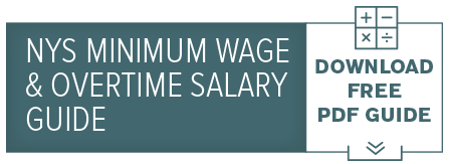 NYS Minimum Wage & Overtime Salary Guide
