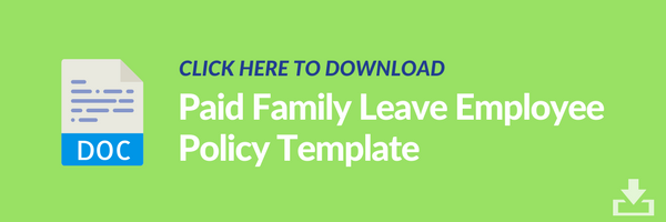 paid family leave employee policy template