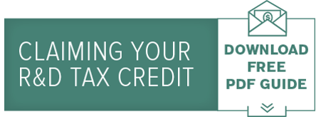 Claiming your R&D Tax Credit Guide