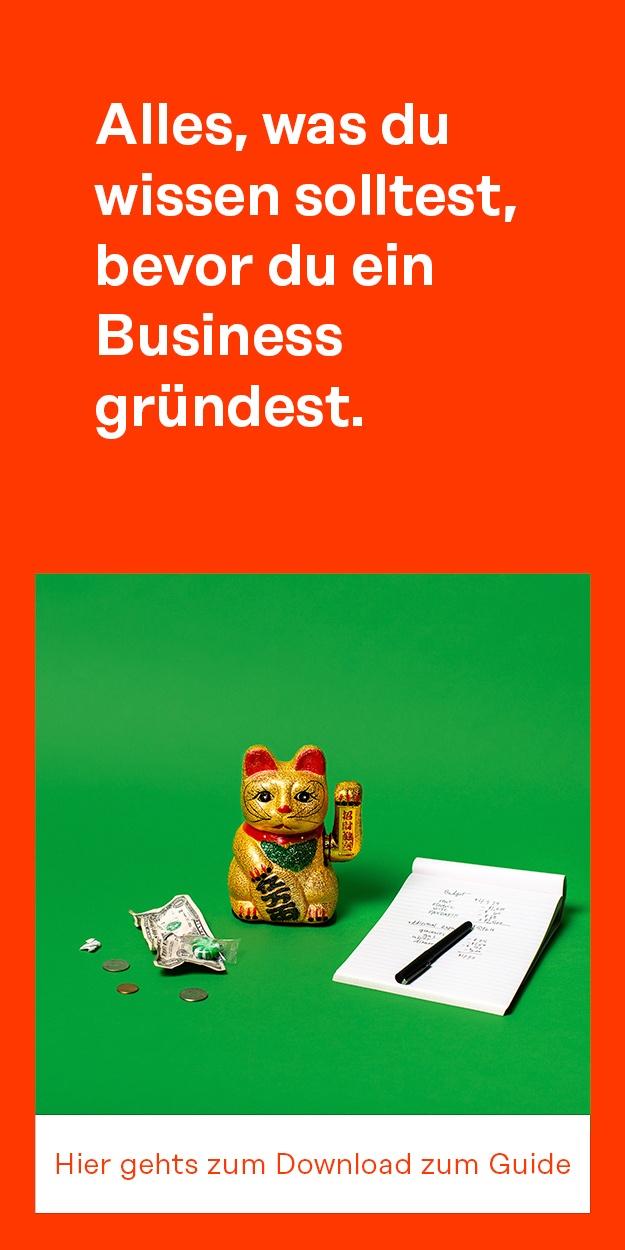 Hier geht´s zum Gründer Guide 2019