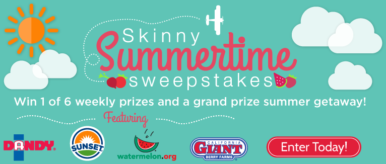 Skinny Summer Sweeps - WIN Big