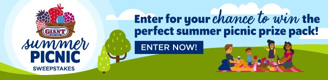 Summer Picnic Sweepstakes   California Giant Berry Farms