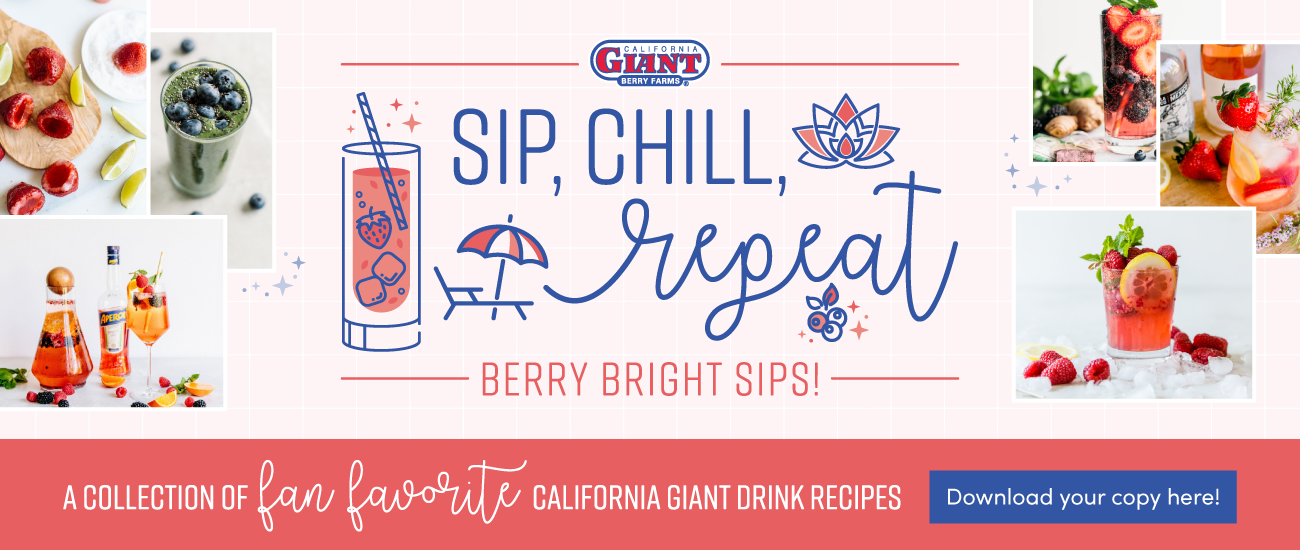 Sip, Chill, Repeat: Bright Berry Sips! | Download your copy here!