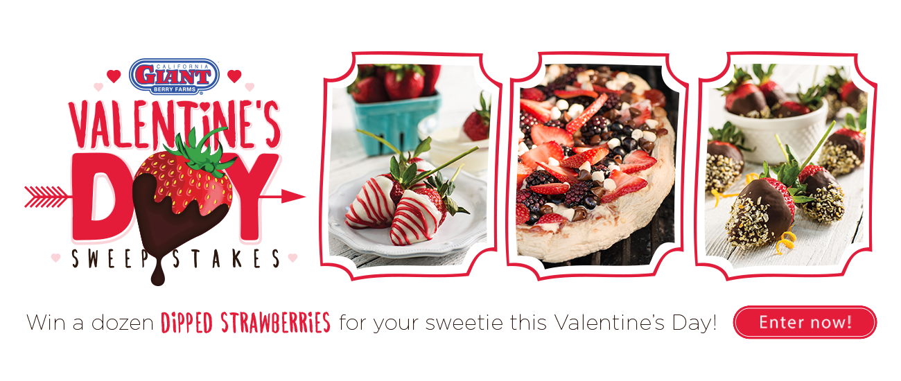 Enter to WIN Dipped Strawberries!