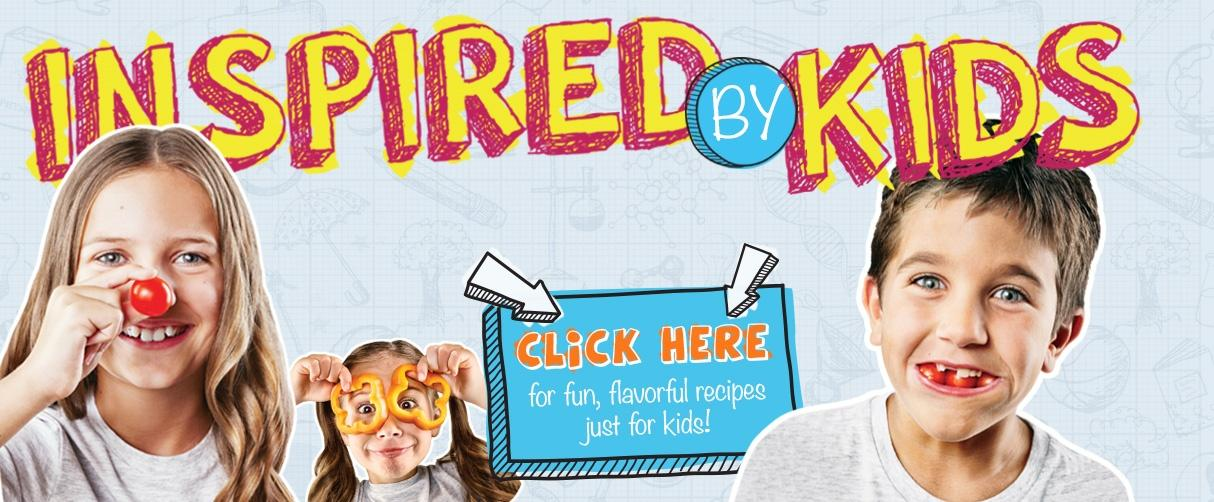 Inspired by kids fun and healthy recipes