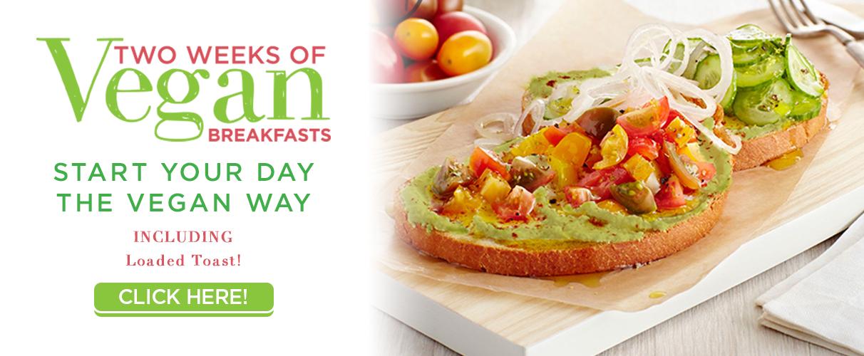 Get Two Weeks of Vegan Breakfast Recipes & More!