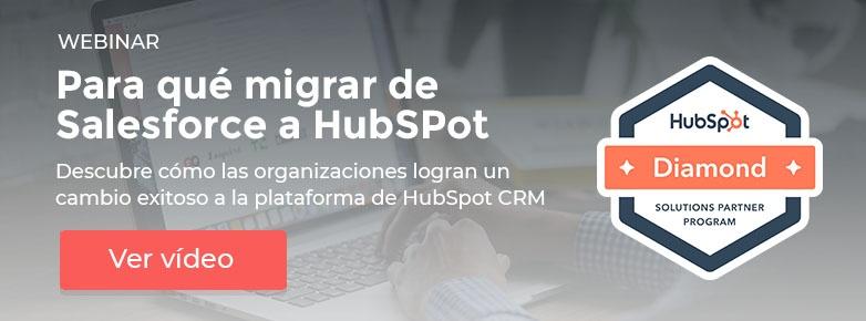 webinar de salesforce a hubspot