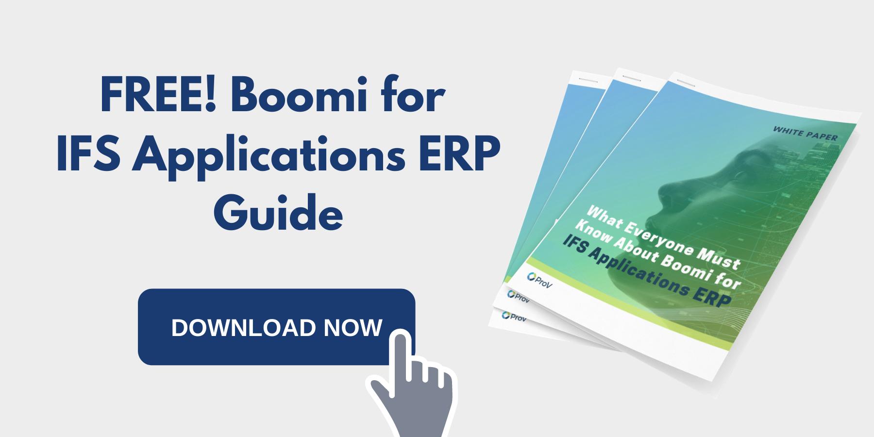 cloud computing - dell boomi - data integration tools - ifs applications erp