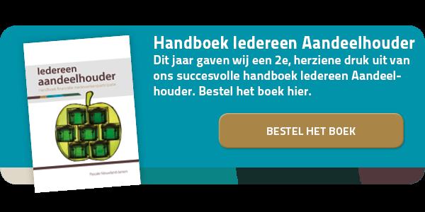 Handboek iedereen Aandeelhouder 2e druk bestellen