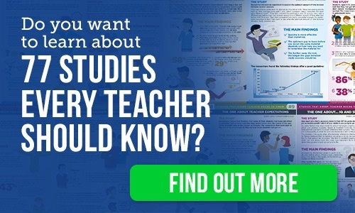 77 education studies every teacher should know