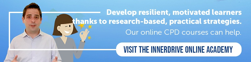 Online teacher CPD about resilience and motivation