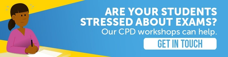 Stress management during exam season teacher CPD workshop