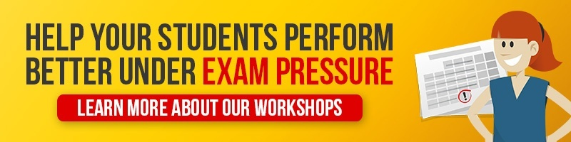 Performance under pressure students workshops for exams