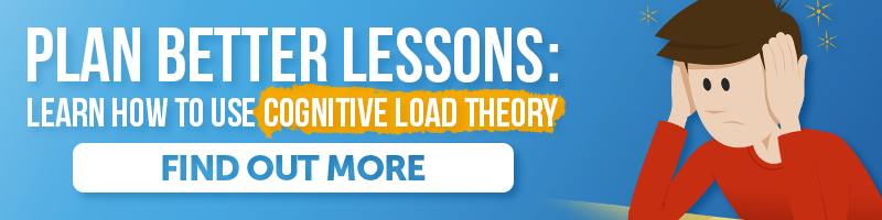 Cognitive Load Theory CPD workshop for teachers