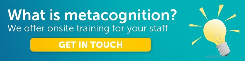 Metacognition teacher CPD training