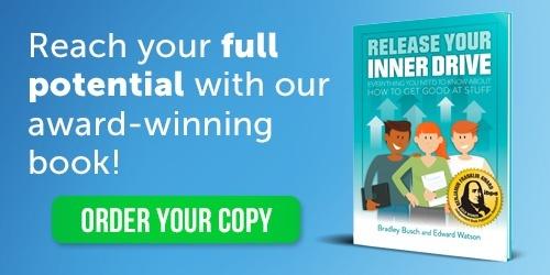 award winning book release your inner drive