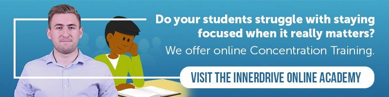 InnerDrive Online Academy student module on Concentration Training