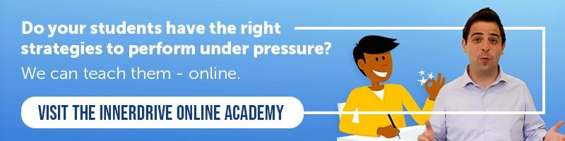 Performance under pressure online student workshops