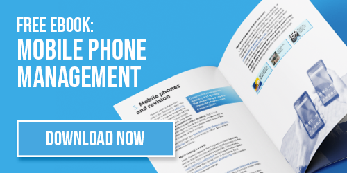 Free ebook about mobile phone management strategies for students