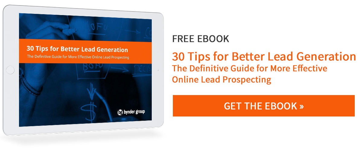 30 Tips for Better Lead Generation