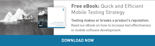 Free eBook: Quick and Efficient Mobile Testing Strategy