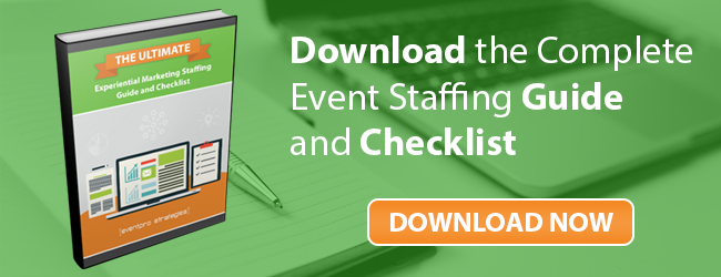 Download the Event Staffing Guide and Checklist