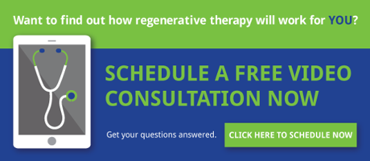 Regenerative Therapy video consultation