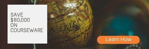 Save $80,000 on Courseware with a Global Print Network