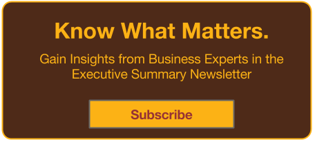 Executive Summary Newsletter Subscription