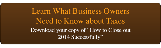 Download your copy of  Close Out 2014 Checklist