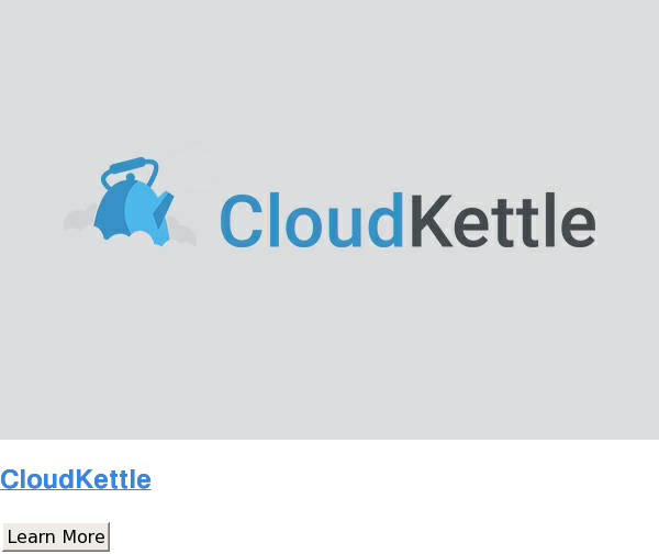 CloudKettle Learn More